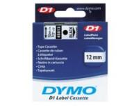 Dymo D1-TAPE 12MM X 7M
