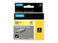 Dymo RHINO HEAT SHRINK TUBE 6X 1,5