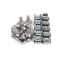 StarTech.com M6 CAGE NUTS und SCREWS