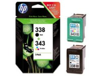 Hewlett Packard SD449EE HP Ink Crtrg 338/343