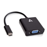 V7 USB-C TO VGA ADAPTER BLACK