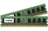 Crucial 4GB KIT (2GBX2) DDR2 1066MHZ