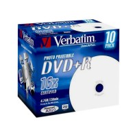 Verbatim DVD+R 4.7GB 16X PRINTABLE