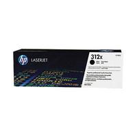 Hewlett Packard CF380X Tonrkasst 312X Schwarz