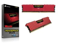 Corsair DDR4 2400MHZ 4GB DRAM RED