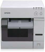 Epson ColorWorks C3400, Cutter, USB, weiß
