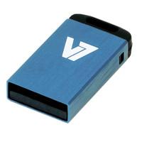 V7 USB NANO STICK 4GB BLUE