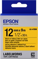Epson TAPE - LK4YBW STRNG ADH BLK