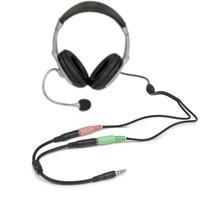 StarTech.com HEADSET ADAPTER - STEREO / MIC