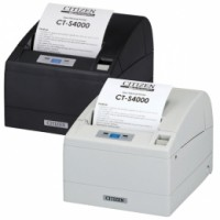 Citizen CT-S4000/L, USB, RS232, 8 Punkte/mm (203dpi), Cutter, weiß