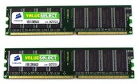Corsair DDR3 1600MHZ 8GB 2X240 DIMM