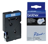Brother TC-203 LAMINATED TAPE 12MM 7.7