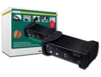 Digitus 2-p.DVI-Audio-USB-KVM Switch