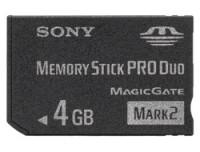 Sony 4GB MS PRO DUO MARK2