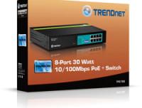 Trendnet 8-PORT 30W 10/100MBPS