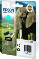 Epson 24 SERIES ELEPHANT CYAN INK