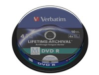 Verbatim M-DISC DVD R 4X 4.7GB INKJET
