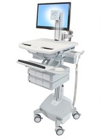 Ergotron STYLEVIEW CART WITH LCD PIVOT