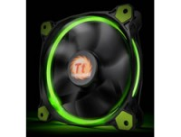 Thermaltake RIING 14 LED GREEN CASE FANS