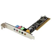 StarTech.com 5.1 CHANNEL PCI SOUND CARD