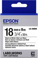 Epson TAPE - LK5WBW STRNG ADH BLK