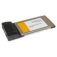 StarTech.com 2X CARDBUS USB CARD ADAPTER