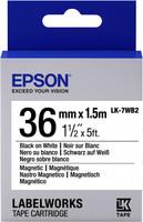 Epson TAPE - LK7WB2 MAGNETIC BLK