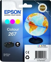 Epson SINGLEPACK COLOUR 267 INK CART