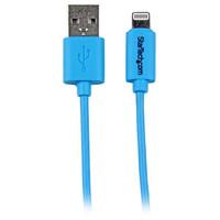 StarTech.com 1M BLUE LIGHTNING USB CABLE