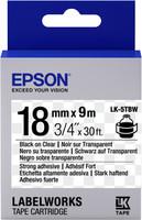 Epson TAPE - LK5TBW STRNG ADH BLK