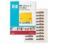 Hewlett Packard ULTRIUM 3 BAR CODE LABELS WORM
