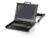 LevelOne 17IN LCD KVM RACK CONSOLE