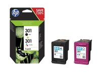 Hewlett Packard INK CARTRIDGE NO 301 B/C/M/Y