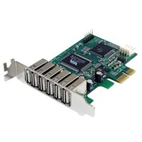 StarTech.com 7PORT PCIE LP USB ADAPTER CARD