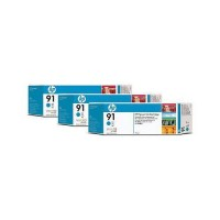 Hewlett Packard INK CARTRIDGE CYAN 3-PACK