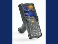 Zebra MC9200 Premium, 1D, Lorax, BT, WLAN, Gun, Disp., IST