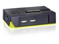 LevelOne 2-PORT USB KVM SWITCH