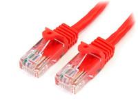 StarTech.com 1M CAT 5E RED SNAGLESS