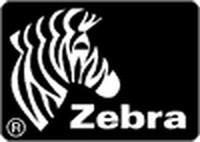 Zebra SAMPLE RIBBON WAX RED 1ROLL