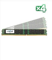 Crucial 128GB KIT(32GBX4)DDR4 2400 MT