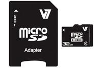 V7 MICROSD CARD 32GB SDHC CL10