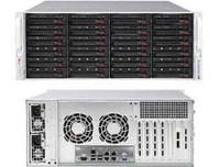 Supermicro 4U BARE 2XEON V2 C602 24X3.5HS