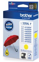 Brother LC-225XLY YELLOW INK CARTRIDGE