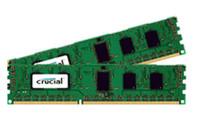 Crucial 4GB (2X2GB) DDR-1600