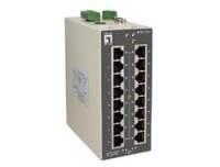 LevelOne 16 FE +2 GE Managed Switch -10