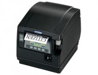 Citizen CT-S851, RS232, 8 Punkte/mm (203dpi), Cutter, Display, weiß