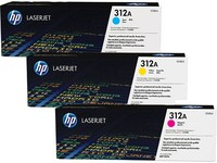 Hewlett Packard TONER CARTRIDGE 312A C/Y/M