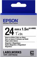 Epson TAPE - LK6WB2 MAGNETIC BLK