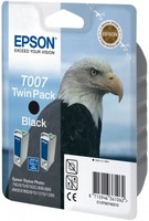 Epson INK CARTRIDGE BLACK 2PK