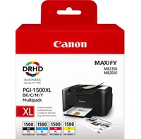 Canon INK PGI-1500XL BK/C/M/Y MULTI
